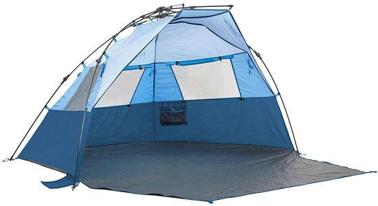 Lightspeed Outdoors Quick Cabana Beach Tent Sun Shelter