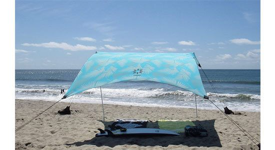 Neso Tents Grande Beach Tent, 7ft Tall, 9 x 9ft, Reinforced Corners and Cooler Pocket